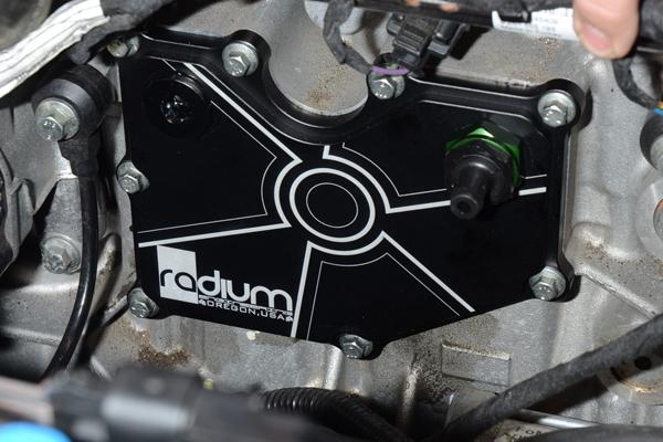 ford focus mk radium engineering pcv baffle plate