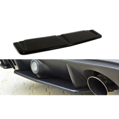 Ford Focus RS Mk3 Maxton Design Central Rear Splitter