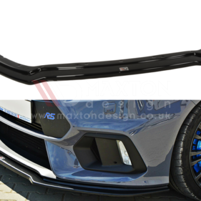 Ford Focus RS Mk3 Maxton Design Front Splitter v4