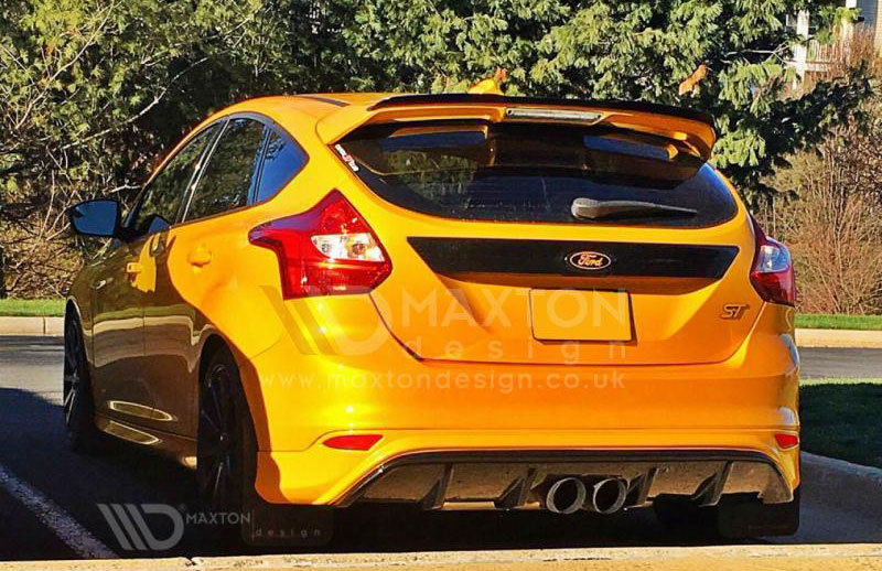 ford focus st250 maxton design rear valance performance. Black Bedroom Furniture Sets. Home Design Ideas