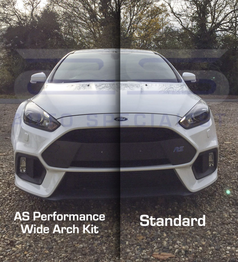 Ford Focus Rs Mk3 Extended Wheel Arches Performance