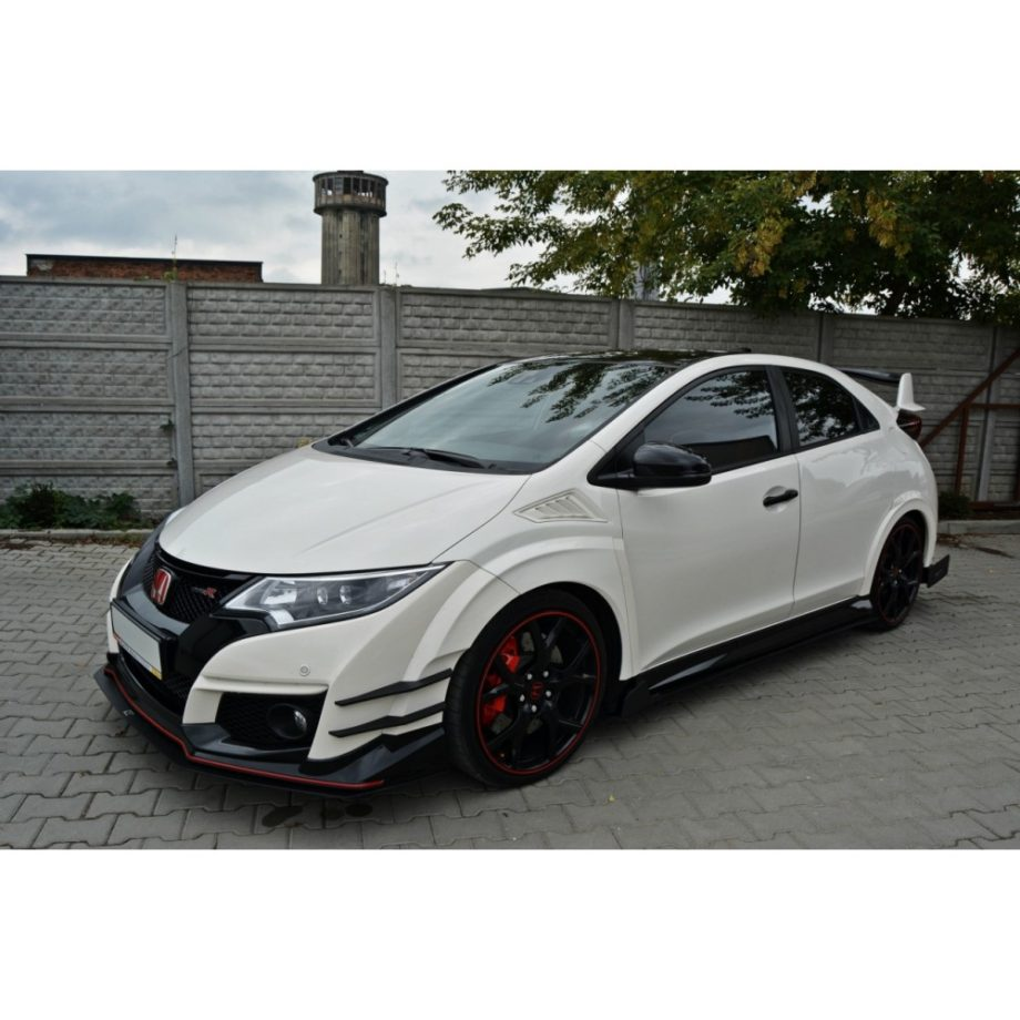 honda civic type r fk2 maxton design racing side skirts. Black Bedroom Furniture Sets. Home Design Ideas