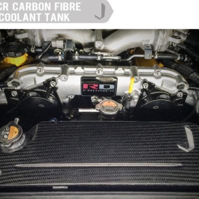 Nissan GTR JCR Carbon Fibre Coolant Tank